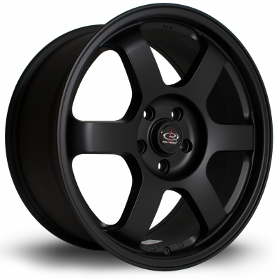Rota Wheels - Grid Van Flat Black (18 inch)