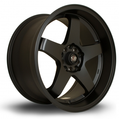 Rota Wheels - GTR-D Flat Black (18 Zoll)