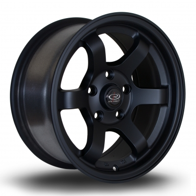 Rota Wheels - Grid-Max Flat Black (15x7 inch)