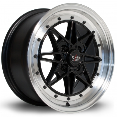 Rota Wheels - Flashblack Royal Black (15 inch)