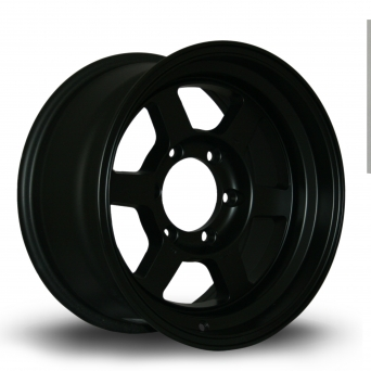Rota Wheels - Grid Offroad Flat Black (16 inch)