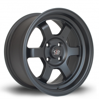 Rota Wheels - Grid-V Flat Black (15x7 Zoll)