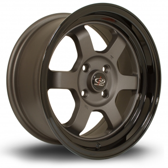 Rota Wheels - Grid-V FG Black (15x7 Zoll)