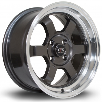 Rota Wheels - Grid-V Royal Gun Metallic (15x7 Zoll)