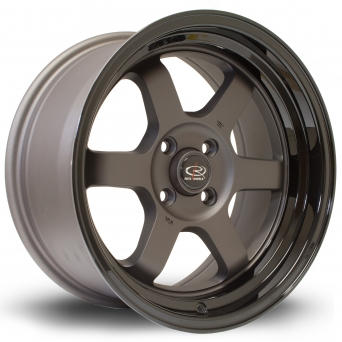 Rota Wheels - Grid-V Flat Gun Metallic Black (16 inch)