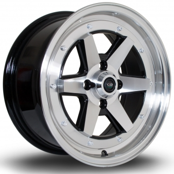 Rota Wheels - OSR Polished Face Black (15 Zoll)