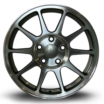 Rota Wheels - R-Spec Polished Face Anthrazit (16 Zoll)