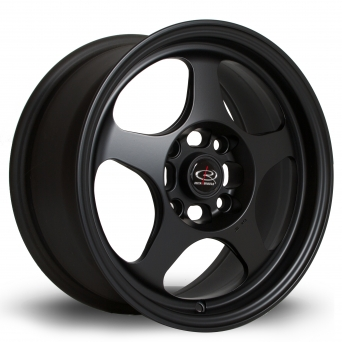 Rota Wheels - Slipstream Flat Black (15 Zoll)