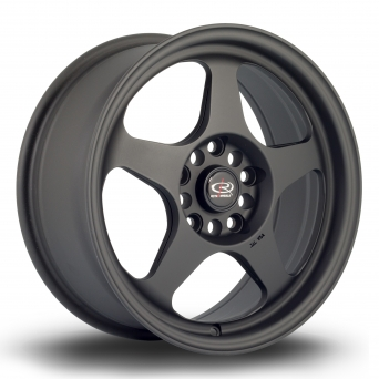 Rota Wheels - Slipstream Flat Black mit TÜV Gutachten (16 Zoll)