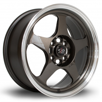 Rota Wheels - Slipstream Royal Gun Metal mit TÜV Gutachten (16 Zoll)