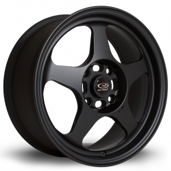 Rota Wheels - Slipstream Flat Black (16 inch)
