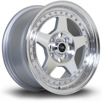 Rota Wheels - Kyusha Polished Face Silver (15 inch)