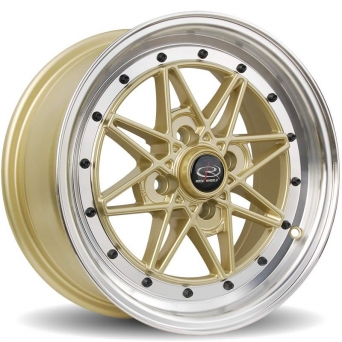 Rota Wheels - Flashblack Royal Gold (15 Zoll)
