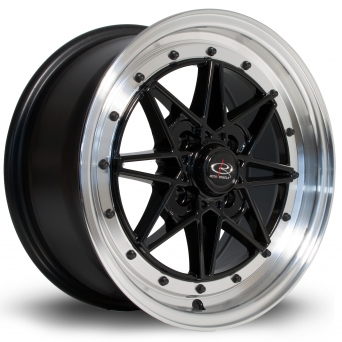 Rota Wheels - Flashblack Royal Black (15 Zoll)