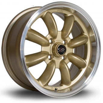 Rota Wheels - D154 Royal Gold (15x7 inch)