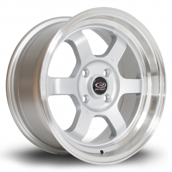 Rota Wheels - Grid-V Royal Silver (15x7 Zoll)
